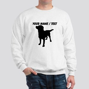 Custom Dog Silhouette Sweatshirt