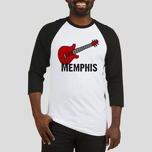 Guitar - Memphis Baseball Jersey