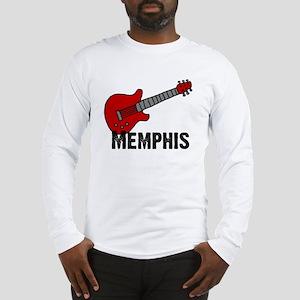 Guitar - Memphis Long Sleeve T-Shirt