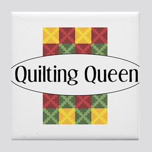Quilting Queen Tile Coaster