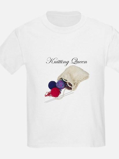 Knitting Queen Kids T-Shirt