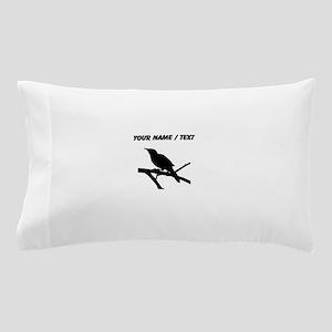 Custom Mockingbird Silhouette Pillow Case