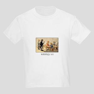 Knitology 101 Kids T-Shirt