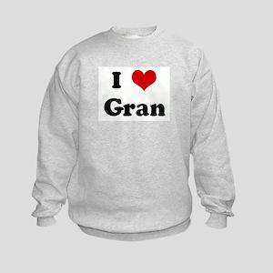I Love Gran Kids Sweatshirt