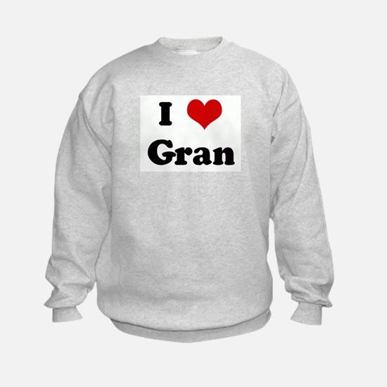 I Love Gran Sweatshirt