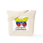 Mariposa Colombiana Tote Bag
