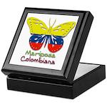 Mariposa Colombiana Keepsake Box