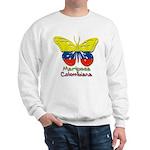 Mariposa Colombiana Sweatshirt