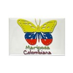 Mariposa Colombiana Rectangle Magnet (100 pack)