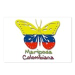 Mariposa Colombiana Postcards (Package of 8)