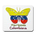 Mariposa Colombiana Mousepad