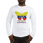 Mariposa Colombiana Long Sleeve T-Shirt