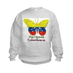 Mariposa Colombiana Kids Sweatshirt