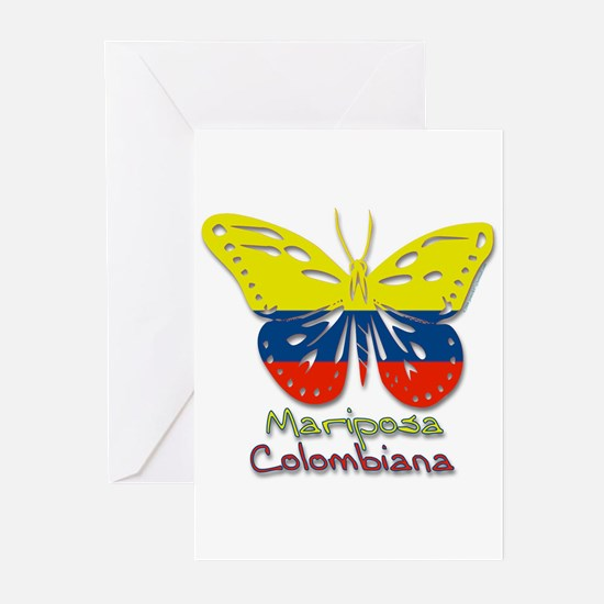 Mariposa Colombiana Greeting Cards (Pk of 10)