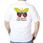 Mariposa Colombiana Golf Shirt