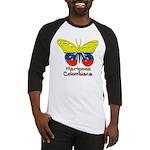 Mariposa Colombiana Baseball Jersey