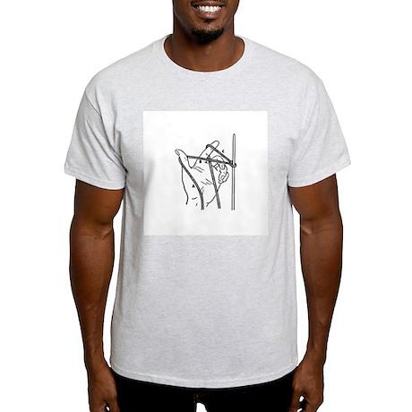 Knitting Diagram Ash Grey T-Shirt