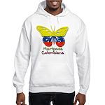 Mariposa Colombiana Hooded Sweatshirt