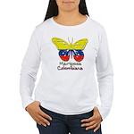 Mariposa Colombiana Women's Long Sleeve T-Shirt