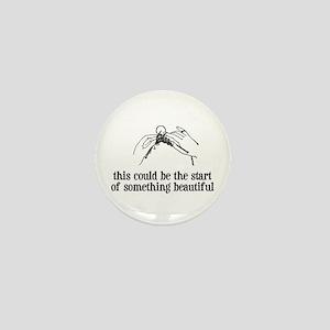 Knitting - Something Beautiful Mini Button