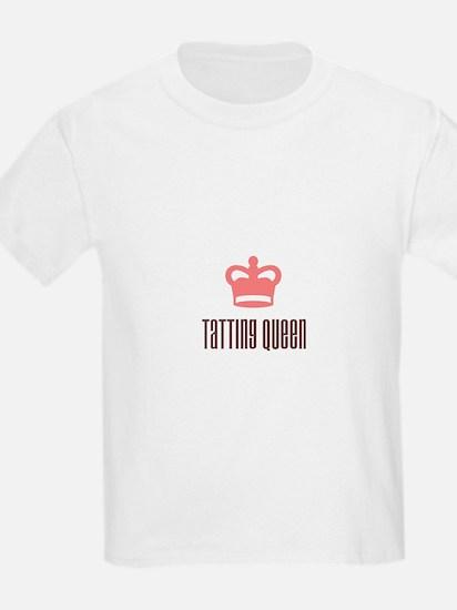 Tatting Queen Kids T-Shirt
