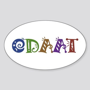 One Day At A Time ODAAT Oval Sticker