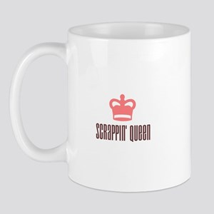 Scrapbooking - Scrappin' Queen Mug