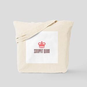 Scrapbooking - Scrappin' Queen Tote Bag