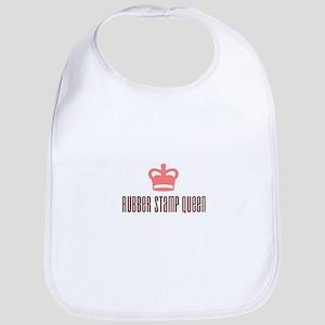 Rubber Stamp Queen Bib
