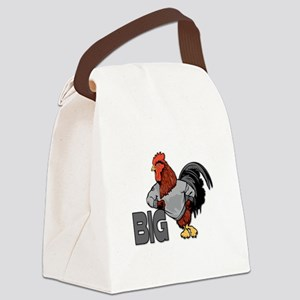 Big Rooster Innuendo Canvas Lunch Bag