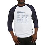 Baby Gender Checklist Blue Baseball Jersey