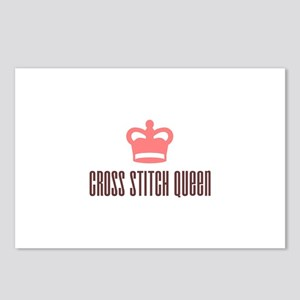 Cross Stitch Queen Postcards (Package of 8)
