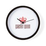 Crochet Queen Wall Clock