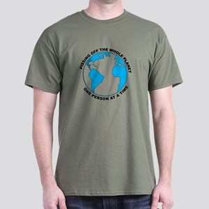 Pissing Off The World Dark T-Shirt