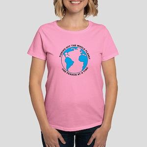 Pissing Off The World Women's Dark T-Shirt