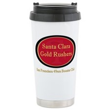 Gold Rusher Logo Travel Mug Mugs