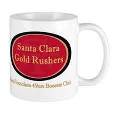 Gold Rusher Logo Mugs