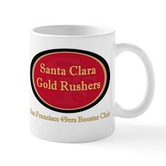 Gold Rusher Logo Mugs