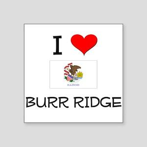 I Love BURR RIDGE Illinois Sticker