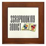 Scrapbooking Addict Framed Tile