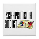 Scrapbooking Addict Tile Coaster
