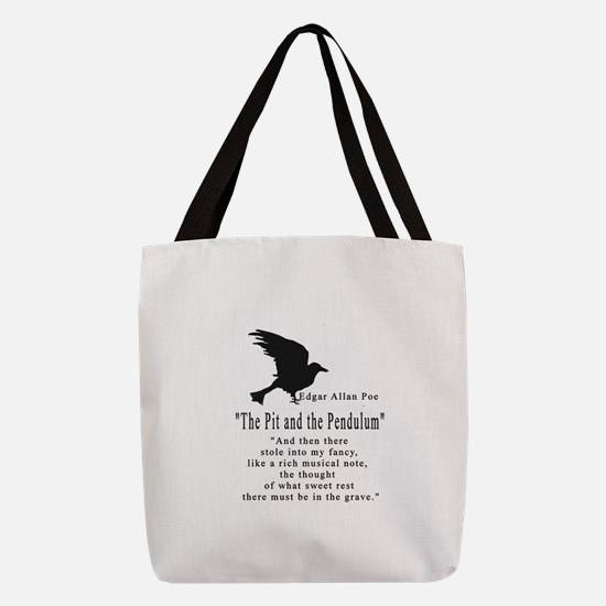 The Pit and The Pendulum .png Polyester Tote Bag