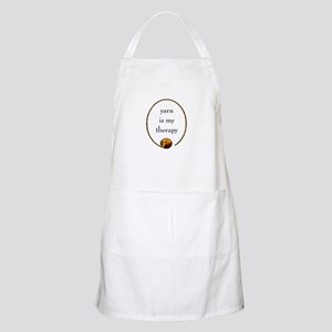 Yarn Is My Therapy BBQ Apron