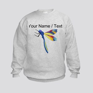 Custom Colorful Dragonfly Sweatshirt