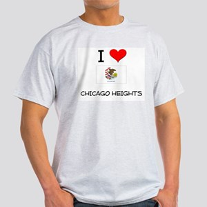 I Love CHICAGO HEIGHTS Illinois T-Shirt