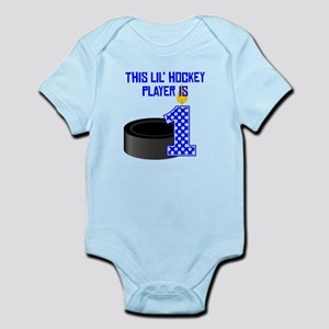 This Lil Hockey Player Is One Body Suit