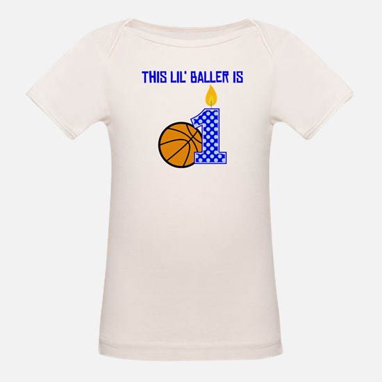 This Lil Baller Is One T-Shirt