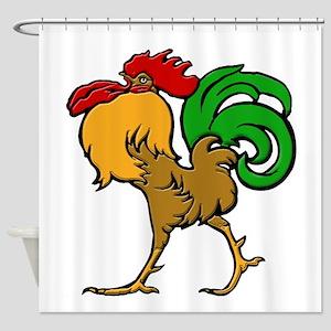 Le Coq Shower Curtain