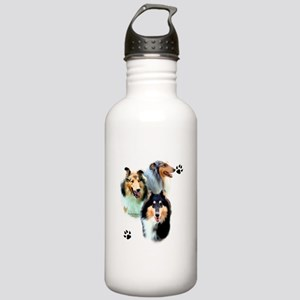 Collie Trio Water Bottle