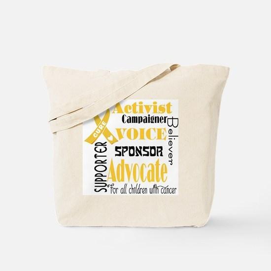 Voice  Tote Bag